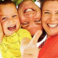 O riso resolve todos os problemas familiares