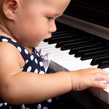 O talento e as habilidades em bebês