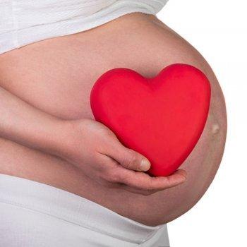 O coração da mulher se fortalece com a gravidez