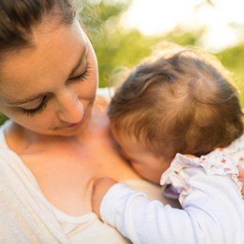 Meu bebê só quer estar nos meus braços