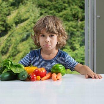 Os alimentos mais rejeitados pelas crianças