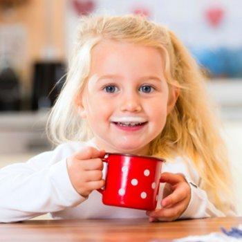 Mais cálcio e vitamina D para os ossos das crianças