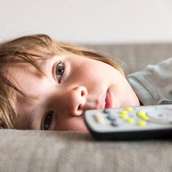 Menos televisão para as crianças