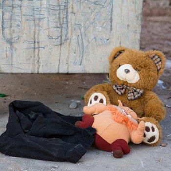 O destino dos brinquedos usados das crianças