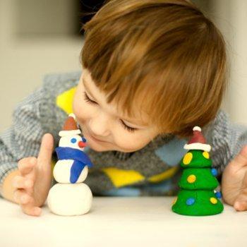 Massinha de modelar: mais concentração e criatividade para as crianças