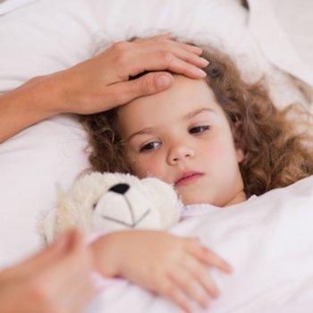 As crianças crescem quando têm febre?