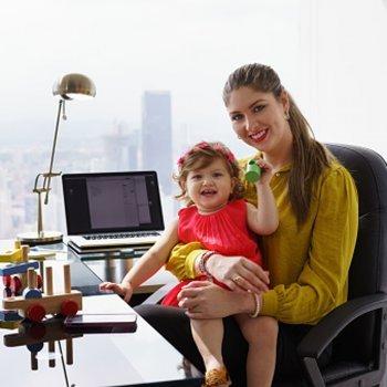 Ser mulher trabalhadora e mamãe... E não ter que escolher