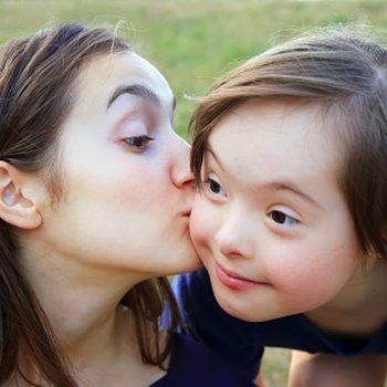 A sensibilidade das crianças com Síndrome de Down