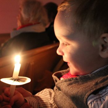 Por que não usar velas quando se tem um bebê