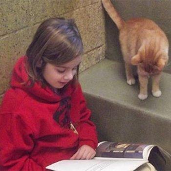 Por que é bom que as crianças leiam para os animais
