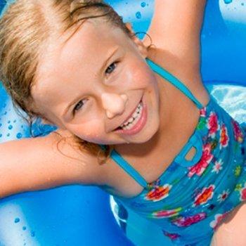 A digestão e o banho das crianças