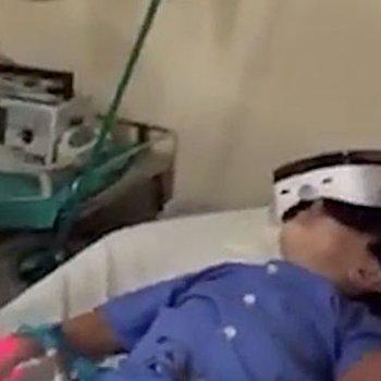 Realidade virtual para afastar o medo das crianças no hospital