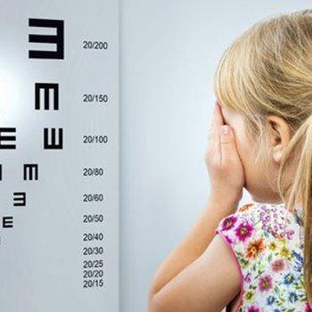 A saúde da visão das crianças