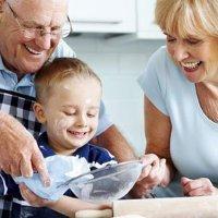 Graças aos avós menos crianças obesas