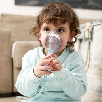 Crianças asmáticas. Asma infantil