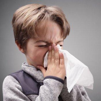Crianças com alergias