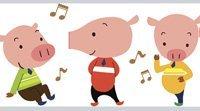 Os três porquinhos. Contos para crianças