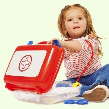 Kit de Primeiros Socorros para crianças