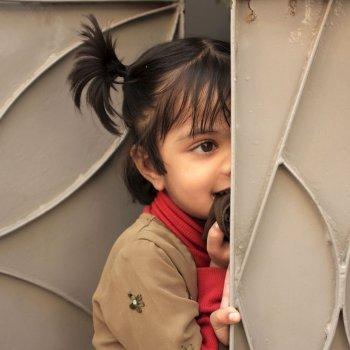 A criança tímida. Timidez infantil