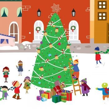 A árvore de Natal. Conto de Natal