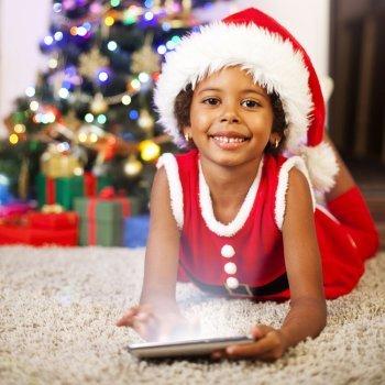 Ideias para felicitar o Natal com as crianças