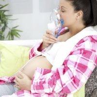 Como tratar da asma durante a gravidez