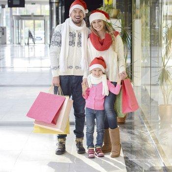 Nas compras de Natal não perca o seu filho de vista