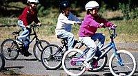 Esporte Infantil. Ciclismo para crianças
