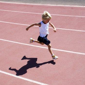 Atletismo para crianças