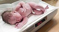 O peso do bebê ao nascer