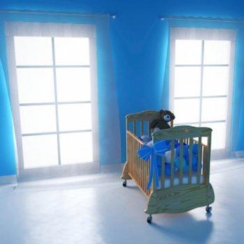 Ideias para decorar a parede do quarto do bebê