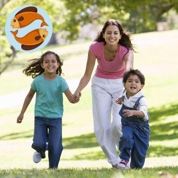 Signo astrológico das mães de Peixes