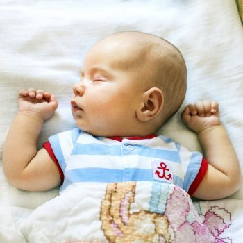 O cochilo dos bebês e das crianças
