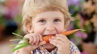 Alimentos que curam as crianças: a visão e os olhos