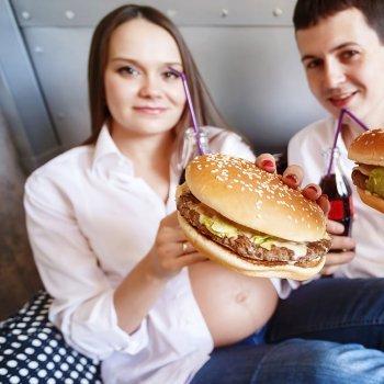 O consumo de gordura durante a gravidez