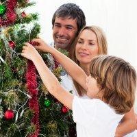 Enfeites para a árvore de Natal