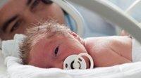 Pelos no corpo do recém-nascido