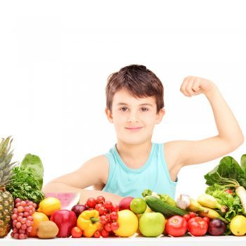 Proporções da dieta equilibrada para as crianças