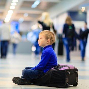 Como fazer com que a criança perca o medo de avião