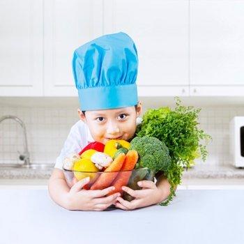 Benefícios dos alimentos segundo sua cor para crianças e gestantes