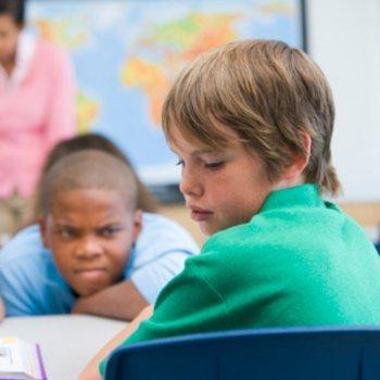 O que fazer se o seu filho é intimidado na escola