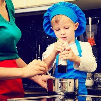 Cozinhando com crianças