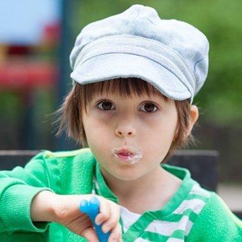 Benefícios do iogurte para as crianças
