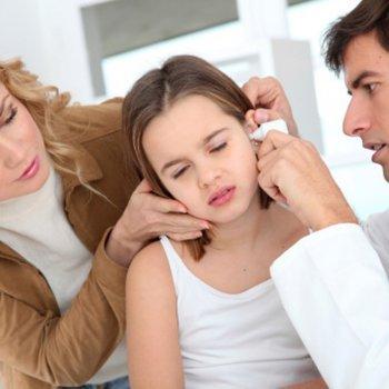 Prevenção e tratamento da otite em crianças