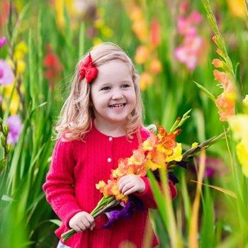 A primavera e as crianças