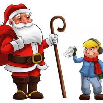 Um trato com Papai Noel. Um conto de Natal