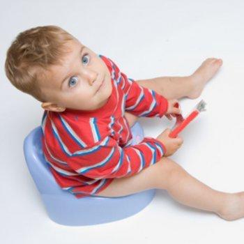 O controle da urina das crianças