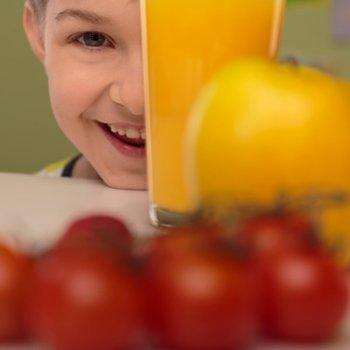 Principais vitaminas para a boa saúde das crianças