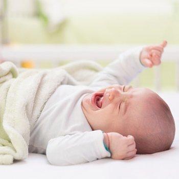 Bebês com prisão de ventre