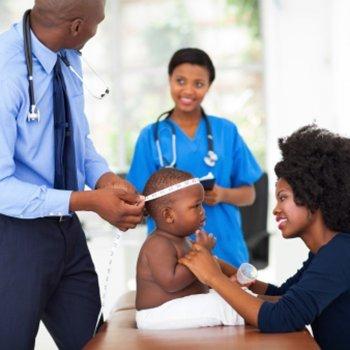 O perímetro cefálico do bebê
